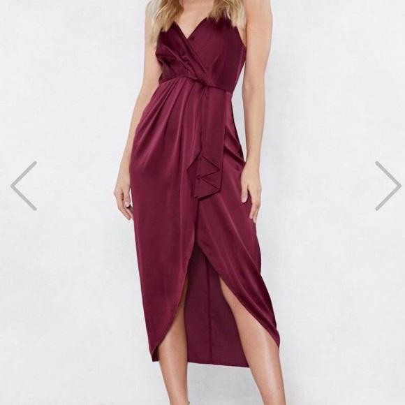 Nasty Gal Dresses & Skirts - Love at First Sight Wrap Dress